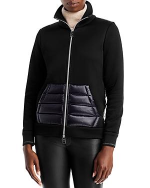 Herno Metallic Edge Knit Puffer Down Jacket