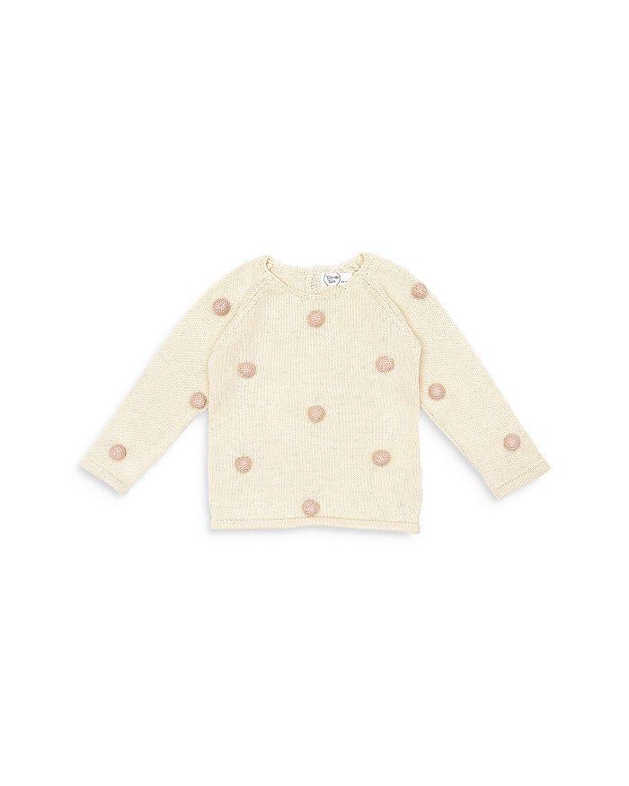 Tun Tun - Girls' Pom Pom Sweater - Baby