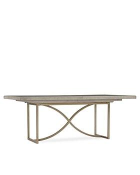 "Hooker Furniture - Elixir 80"" Rectangular Dining Table"