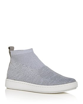 Eileen Fisher - Women's Point Stretch Knit High Top Sneakers