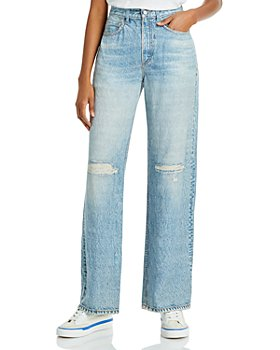 rag & bone - Miramar Wide Leg Jeans in Dara