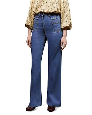 Anna Wide Leg Jeans in Blue