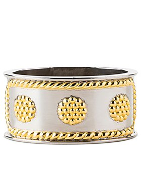 Juliska - Berry & Thread Silver and Gold Tone Napkin Ring