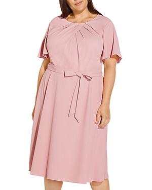 Draped Divine Crepe Dress