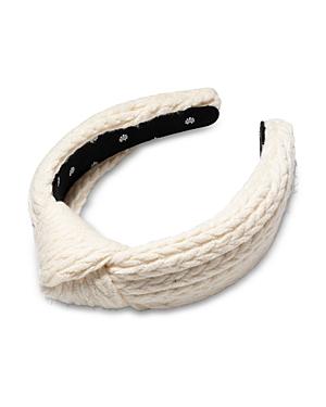 Lele Sadoughi Cable Knit Headband