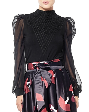 String Trimmed Top (42% off) Comparable value $86