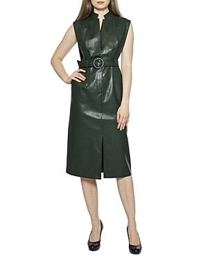 Faux Leather Sleeveless Dress (49% off) Comparable value $129.60