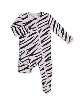 Angel Dear - Girls' Zebra Footie - Baby
