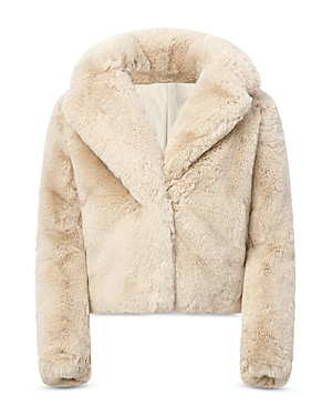 Apparis Girls' Milly Faux Fur Coat - Little Kid, Big Kid