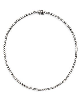 Bloomingdale's - Diamond Tennis Necklace in 14K White Gold, 10.0 ct. t.w. - 100% Exclusive