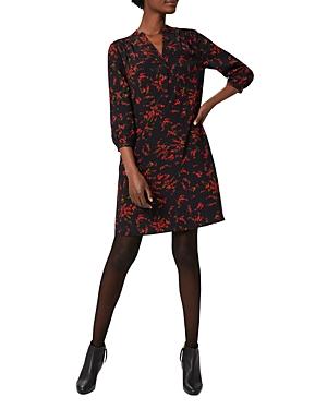 Hobbs London Katarina Printed Tunic Dress