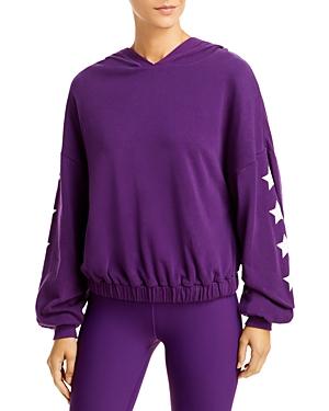 Aqua Athletic Star Sleeve Hoodie - 100% Exclusive In Boysenberry