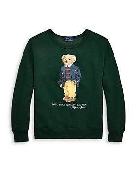 Ralph Lauren - Boys' Polo Bear Fleece Sweatshirt - Big Kid