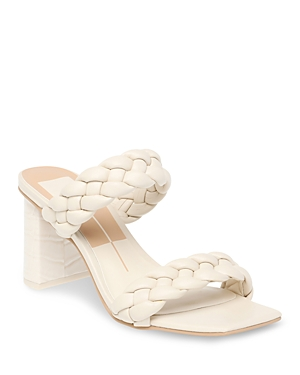 Women's Paily Braided Double Strap High Heel Sandals