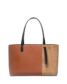 STAUD - Shoko Leather & Suede Tote Bag