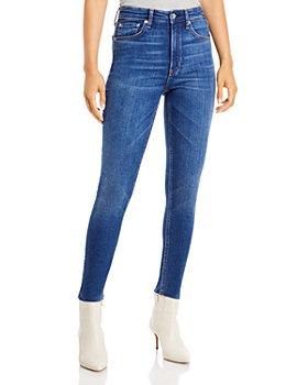 rag & bone - Nina High Rise Skinny Ankle Jeans in Jasper