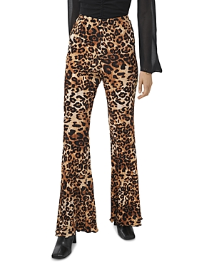 1.state Leopard Print Flared Pants