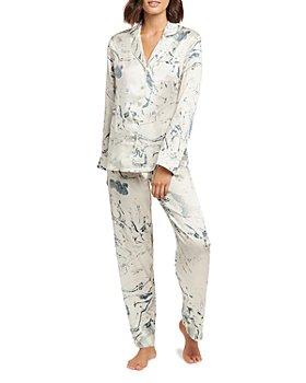 GINIA - Carrara Marble Print Pajamas Set