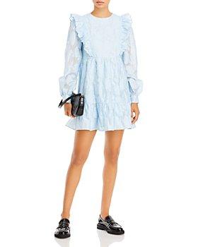AQUA - Ruffled Tiered Dress - 100% Exclusive