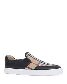 Burberry - Women's New Salmond Slip On Sneakers