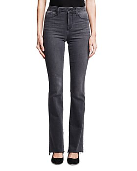 L'AGENCE - Ruth High Rise Straight Jeans in Vintage Grey