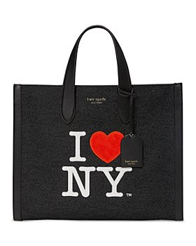 kate spade new york - I Love NY x Manhattan Embroidered Large Tote