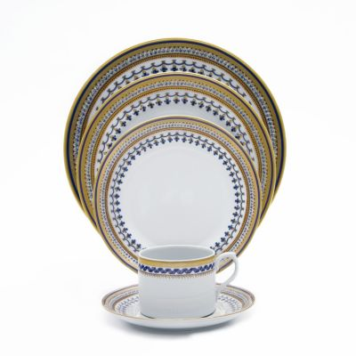 """""""Chinois Blue"""" Demitasse Cup & Saucer"""