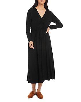 Karen Kane - V-Neck Midi Dress