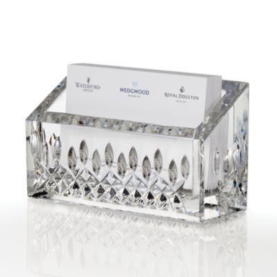 $Waterford Lismore Essence Card Holder - Bloomingdale's