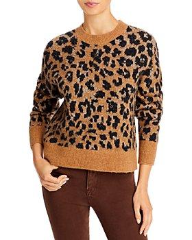FRAME - Cheetah Print Sweater