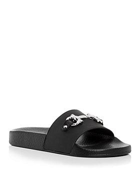 Salvatore Ferragamo - Women's Groovy Gancini Bit Slide Sandals