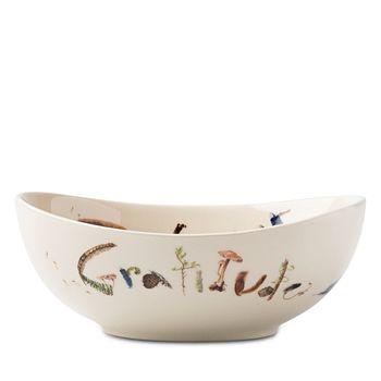 Juliska - Forest Walk Oval Love and Gratitude Bowl