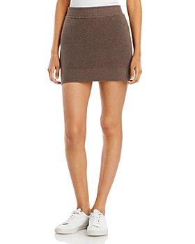 Monrow - Knit Mini Skirt