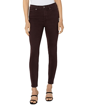 Liverpool Abby Skinny Jeans in Cherry Wood