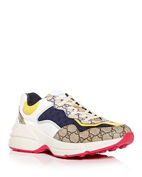 Gucci - Men's Rhyton Low Top Sneakers