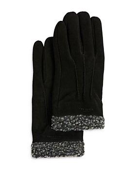 Ted Baker - Suede Fleece Lined Gloves