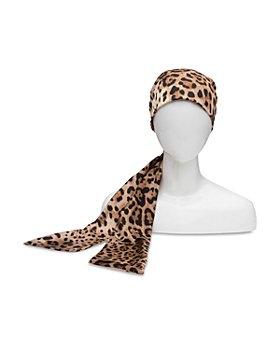 Eugenia Kim - Gigi Leopard Print Satin Headscarf