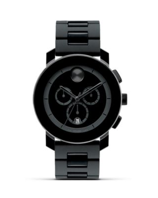 Movado Watches BOLD LARGE CHRONOGRAPH WATCH, 43.5MM