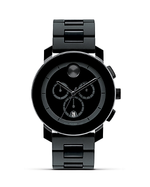 Movado Bold Large Chronograph Watch, 43.5mm