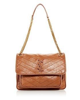 Saint Laurent - Niki Medium Quilted Leather Shoulder Bag