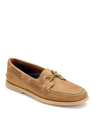 Sperry Men's Authentic Original Two Eye Leather Boat Shoes