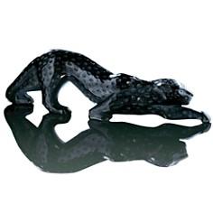 """Lalique - """"Zeila"""" Panther Black Large"""