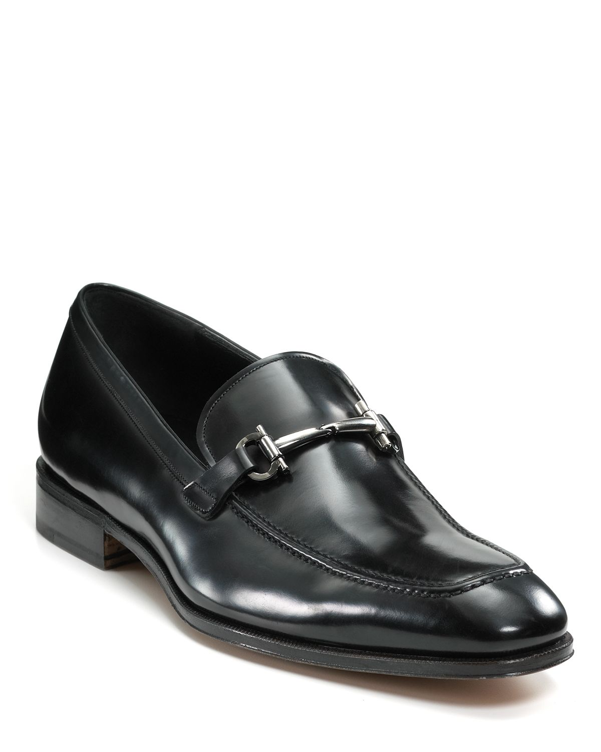 Salvatore Ferragamo Fenice Leather Loafers