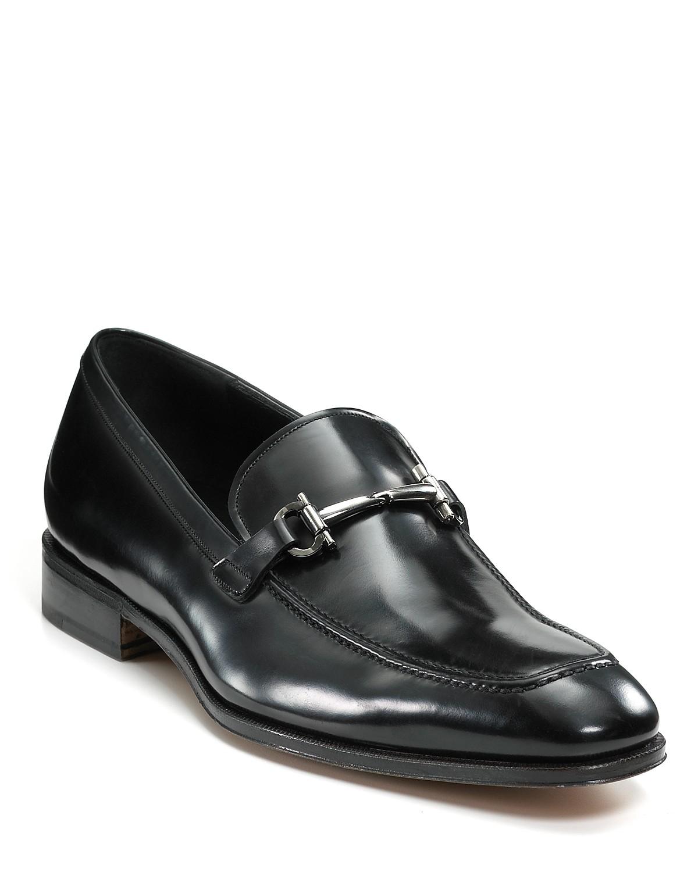 Salvatore Ferragamo Fenice Leather Loafers a0wixwi