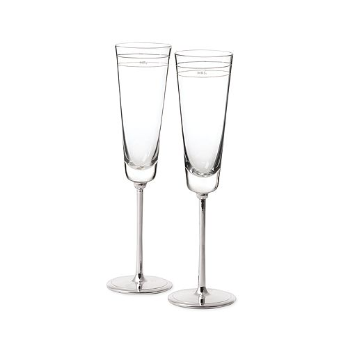 kate spade new york - Darling Point Toasting Flutes, Set of 2