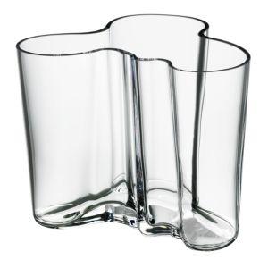 Aalto 4.75 Clear Vase by Iittala