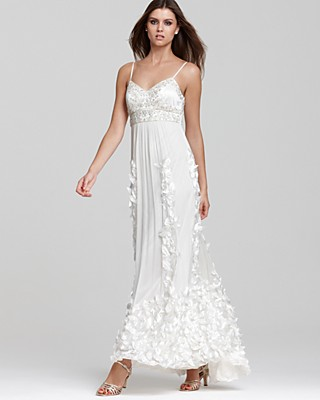Sue Wong Cascading Petal Gown | Bloomingdale\'s