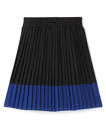 $AQUA Girls' Color Block Pleated Skirt, Sizes S-XL - 100% Exclusive - Bloomingdale's
