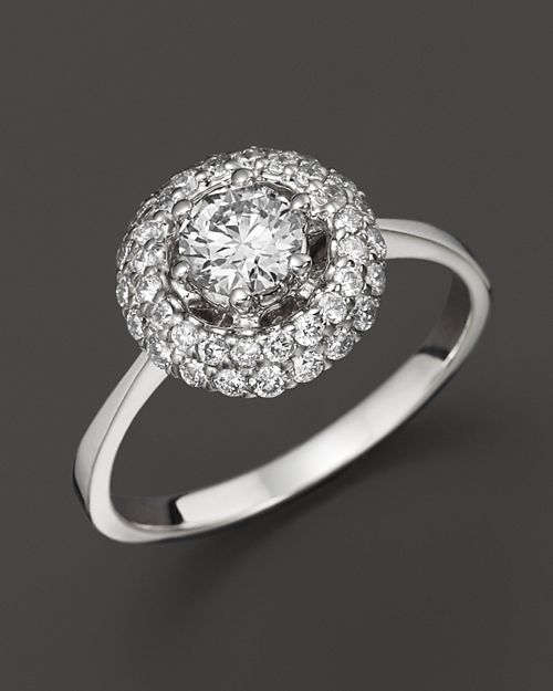 Bloomingdale's - Diamond Ring in 14K White Gold, .85 ct. tw.- 100% Exclusive