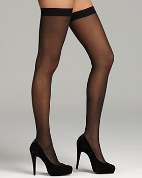 Wolford - Wolford Individual 10 Stay-Up Thigh Highs
